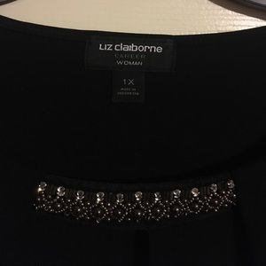 Liz Claiborne long sleeve top